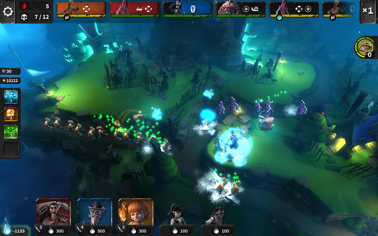 Hero Defense скриншоты